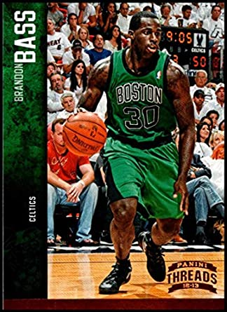 f6766dc0b12 Amazon.com  2012-13 Panini Threads  11 Brandon Bass NM-MT Boston Celtics  Official NBA Basketball Card  Collectibles   Fine Art