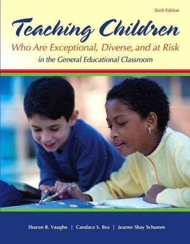 By Sharon R. Vaughn - Teaching Students Who Are Exceptional, Diverse, and at Risk in th (6th Revised Edition) (2013-01-16) [Paperback]