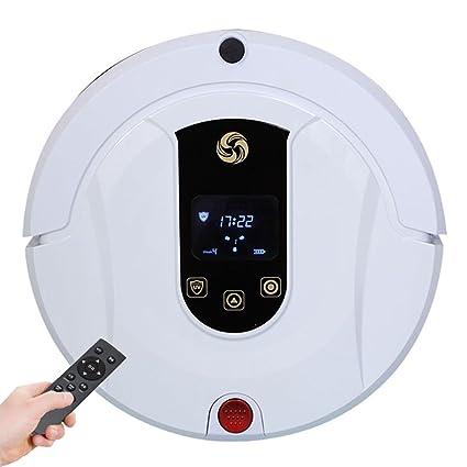 MIAO@LONG Robot Aspirador Casa Alta Succión Con Autocargador Y Detección De Gotas Aspiradora Para