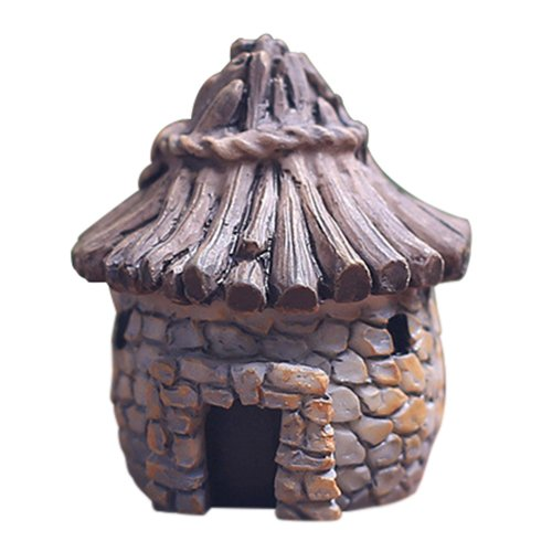 Moss Cottage - gnome moss dollhouse - TOOGOO(R)Mini DIY dollhouse miniatures cottage terrarium fairy garden gnome moss resin decorations for home and garden