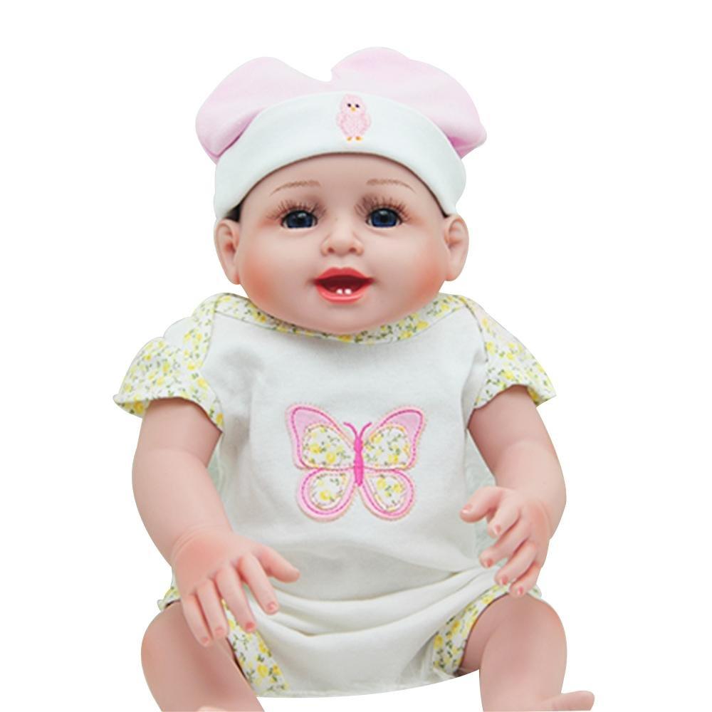 Barato LINAG Muñeca Renacida Bebé Realista Vinilo Silicona Lifelike Doll Cumpleaños Regalo Juguetes Toque Suave Fashion Temprana Educación Regalo Jugar Casa Doll-26520 52cm