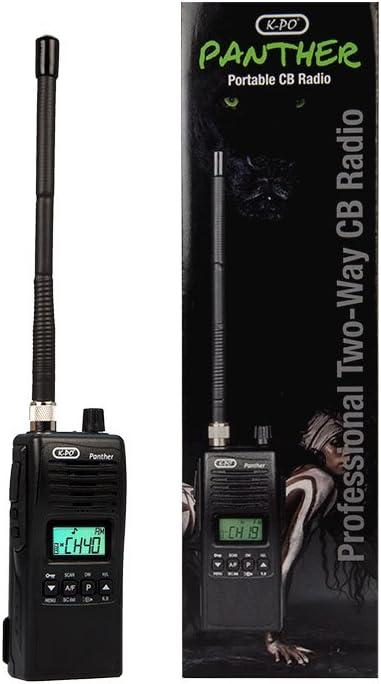 K-PO Panther Walkie Talkie CB 27 MHz 40 Canales Am/FM.