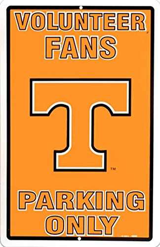 University of Tennessee Tin Sign 12 x 18in