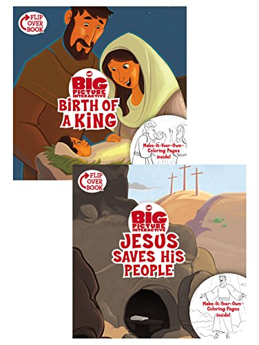 The Birth of a King/Jesus Saves His People Flip-Over Book (The Big Picture Interactive / The Gospel Project)