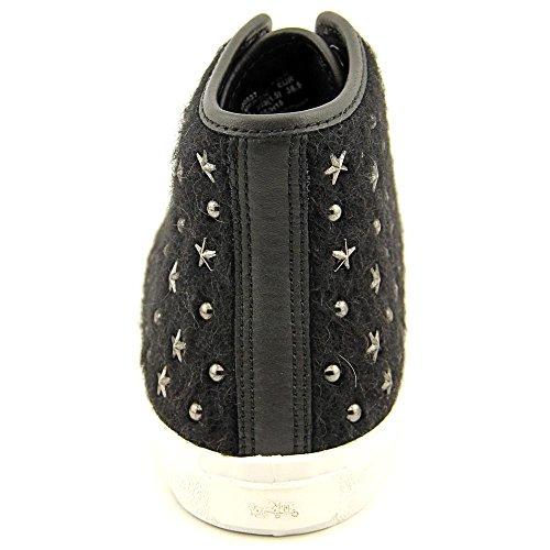 Coach Womens Emerald High Top Fashion Sneaker Zwarte Ster
