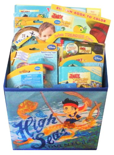Jake & The Never Land Pirates Gift Basket - Perfect for Easter, Birthday, Christmas, or Other Occasion - Exclusive Maraca