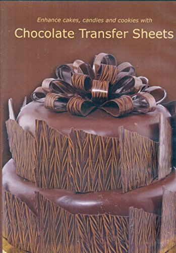 Enhance Cakes Candies and Cookies with Chocolate Transfer Sheets
