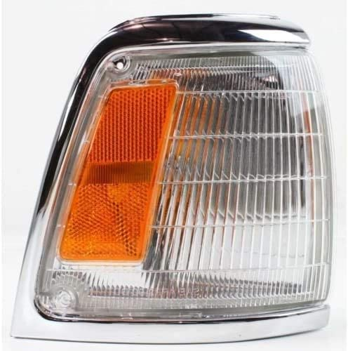 I-Match Auto Parts Right Passenger Side Front Parking Signal Light Assembly Replacement for 1992-1995 Toyota Pickup 2WD TO2521129 8161035100 Amber