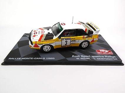 Générique Audi Sport Quattro Rally 1985 Röhrl 1/43 Ixo (BR5)