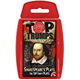 shakespeare' S plays top Trump card Games