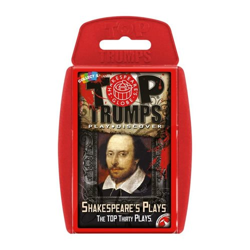 Top Trumps Shakespeare's Plays Card Game (Interesting Facts About A Midsummer Night Dream)