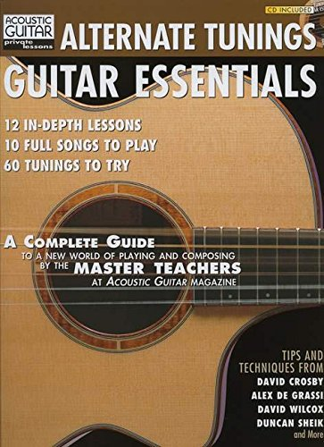 Tunings Alternate Guitar - Alternate Tunings Guitar Essentials (Acoustic Guitar Magazine's Private Lessons)