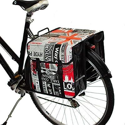 BikyBag Alforjas de Bicicleta a Prueba de Agua (Londres): Amazon ...