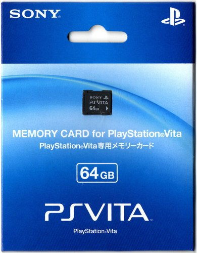 PlayStation Vita Memory Card 64GB (PCH-Z641G)
