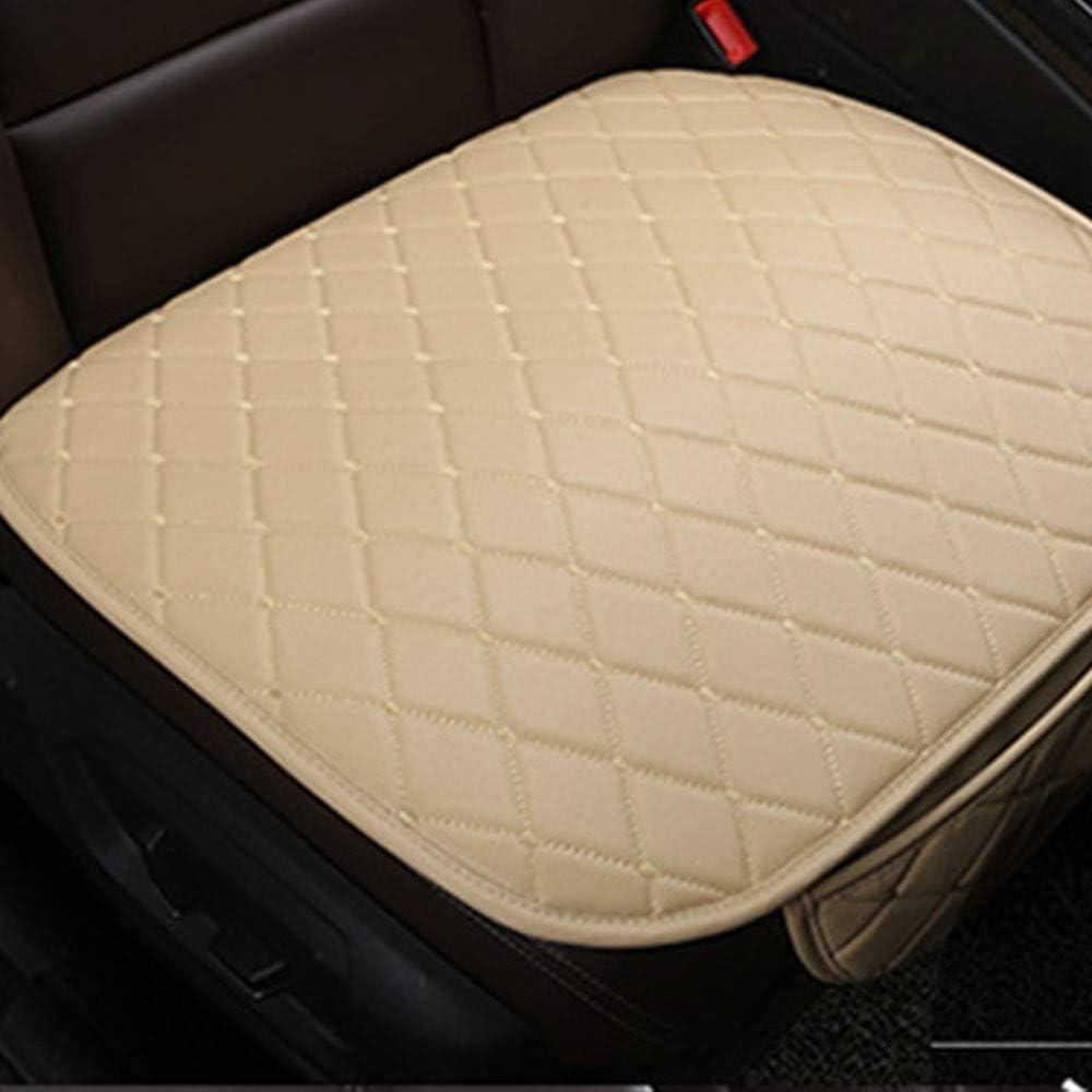 gattop Seat Protector Cushion Auto Seat Cushion Car Seat Cushion Universal Comfortable Pu Non-Slip Rubber Multicolor Health Care Color:Blackwhite