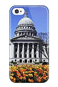 New Iphone 4/4s Case Cover Casing(a Madison Spring Day)