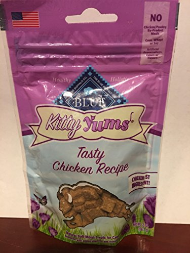 Blue Tasty Chicken Kitty Yums Cat Treats