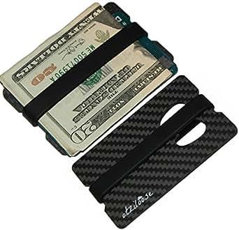 atziloose carbon fiber money clip wallet and bottle opener great mens gift idea. Black Bedroom Furniture Sets. Home Design Ideas