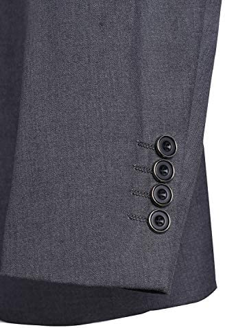 Babyonlinedress(ベビーオンラインドレス) スーツメンズ ジャケット パンツ ベスト 3点セット 上下セット セットアップ 1つボタン 防シワ 細身 メンズ スリム 結婚式/ビジネス/カジュアル/オシャレ 就職 紳士服 二次会 パーティー 洗える