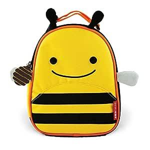 Skip Hop Zoo Kids Insulated Lunch Box, Brooklyn Bee, Yellow