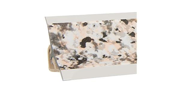 HOLZBRINK Copete de Encimera Granito Embellecedor de Remate PVC Listón de Encimeras 23x23 mm 150 cm: Amazon.es: Bricolaje y herramientas
