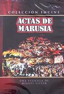 Actas de Marusia [*Ntsc/region 1 & 4 Dvd. Import-latin America] by Miguel Littin (English subtitles)