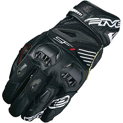 Five SF1 Adult Street Motorcycle Gloves - Black/Large