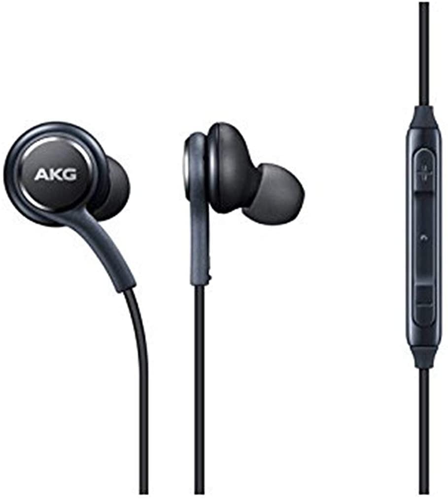 OEM Stereo Headphones with in-line Remote & Microphone for Samsung Galaxy S8, S8 Plus S9, S9 Plu