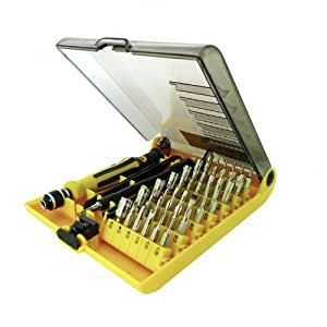 LB1 High Performance New Mini Universal Tool Kits for Acer Aspire 1690 Laptop Notebook Multipurpose 45-Piece Precision Screwdrivers Repair Tool Set
