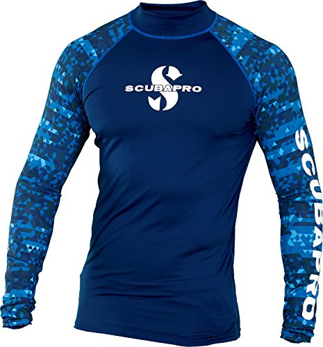 ScubaPro Men's UPF 50 Long Sleeve Rash Guard