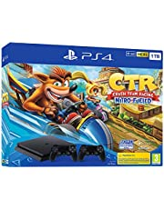 PS4 1TB + CRASH TR + DS4 - Bundle