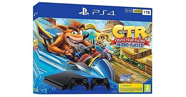 Sony PS4, 1TB + Crash TR + DS4 Negro 1000 GB Wifi - Videoconsolas ...