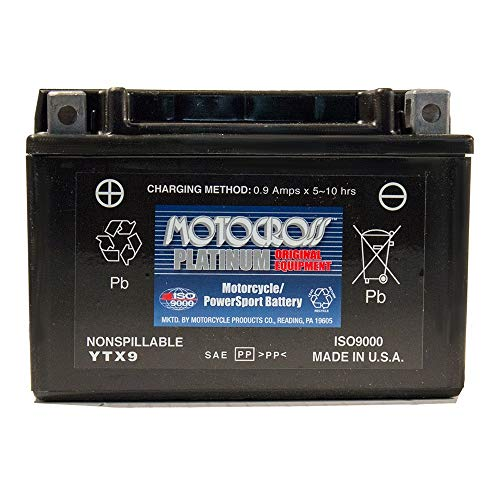 12V 8Ah Battery for 1997-2010 Suzuki GSXR600 Motorcycle AGM Battery