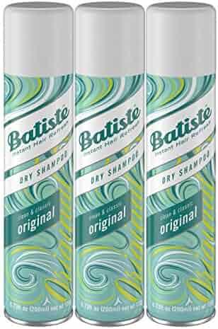 Batiste Dry Shampoo, Original Fragrance, 3 Count
