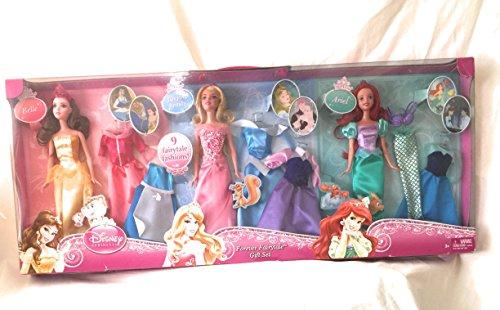 Disney Princess Fashion Doll (Disney Princess Dreams Come True Doll & Fashions Gift Set)