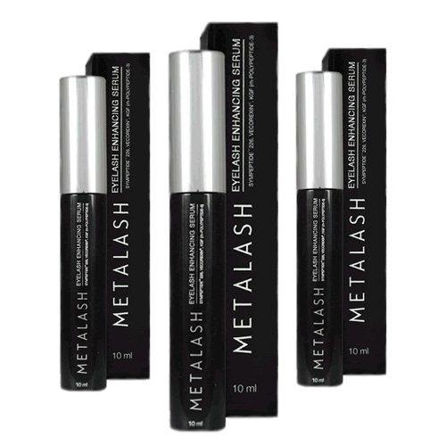 Metalash 3pack - Best Eyelash Growth Serum - Best Eyelash Enhancer - Lash Strengthener - Get Longer Lashes Now