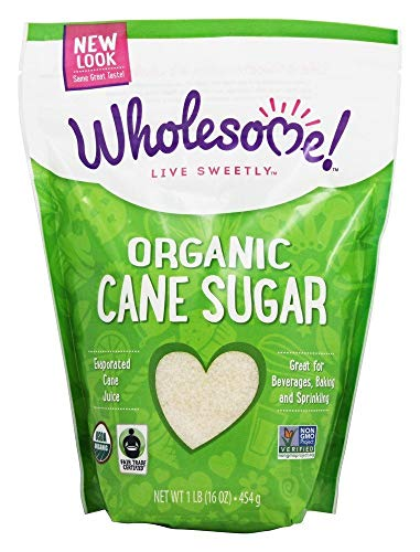 Wholesome Organic Cane Sugar 16 oz