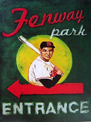 Fenway Park Entrance Metal - Fenway Store