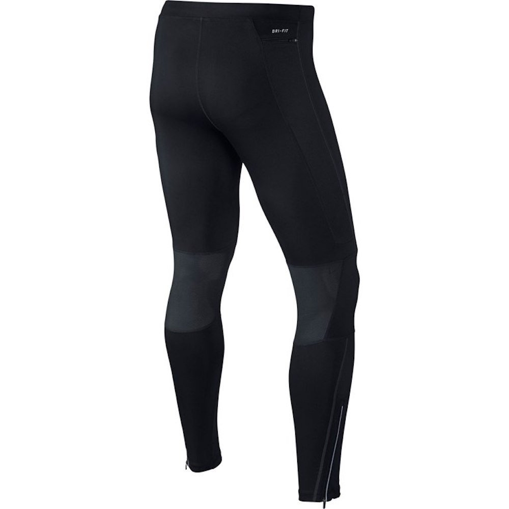 Nike Men's Dri-FIT Essential Running Tights Black/Reflective Silver Size X-Large by Nike (Image #5)