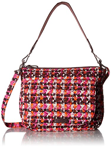 (Vera Bradley Carson Shoulder Bag, Houndstooth Tweed, Twe)