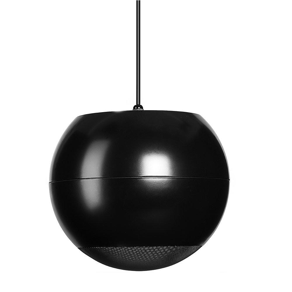 OSD Audio 70V Hanging Pendant Speaker - Reinforced Cable Suspension - PC-640blk