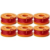 Worx WA0010 Línea de recortadora de recambio de 6 paquetes para cortadoras de hilo eléctricas seleccionadas