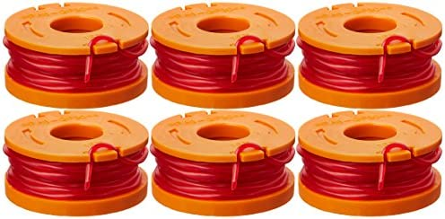 6//8//10//12 Pack For WORX WA0010 Spool Replacement Line Grass Trimmer Edger 10ft