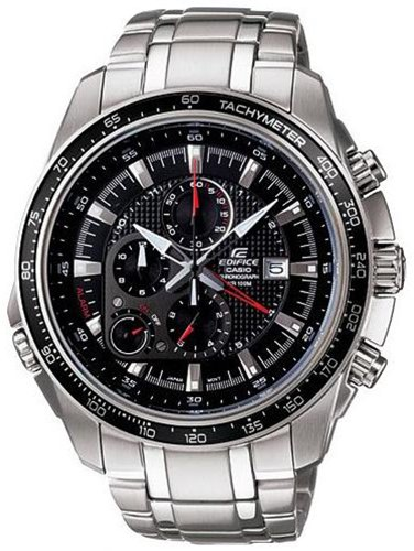 Stainless Steel Edifice Chronograph Tachymeter