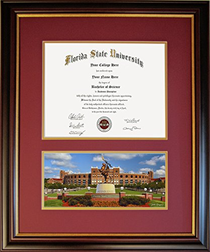 Diploma Frame for Florida State University - Unconquered