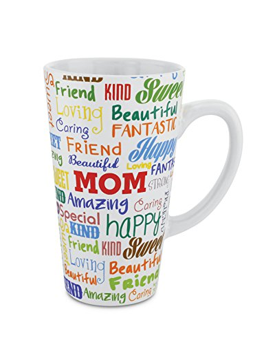 (KOVOT Mom Mug - 16 Ounce Ceramic Coffee Mug (Mother)