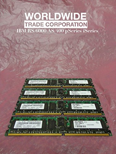 IBM 16R0223 7893 4GB (4x 1024MB) 276-Pin 533MHz DDR2 SDRAM DIMMs pSeries