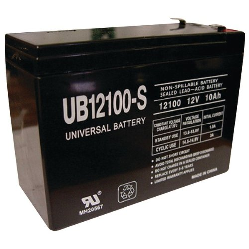 UBCD5719 - UPG 85968 D5719 Sealed Lead Acid Batteries (12V; 10 AH; UB12100S)