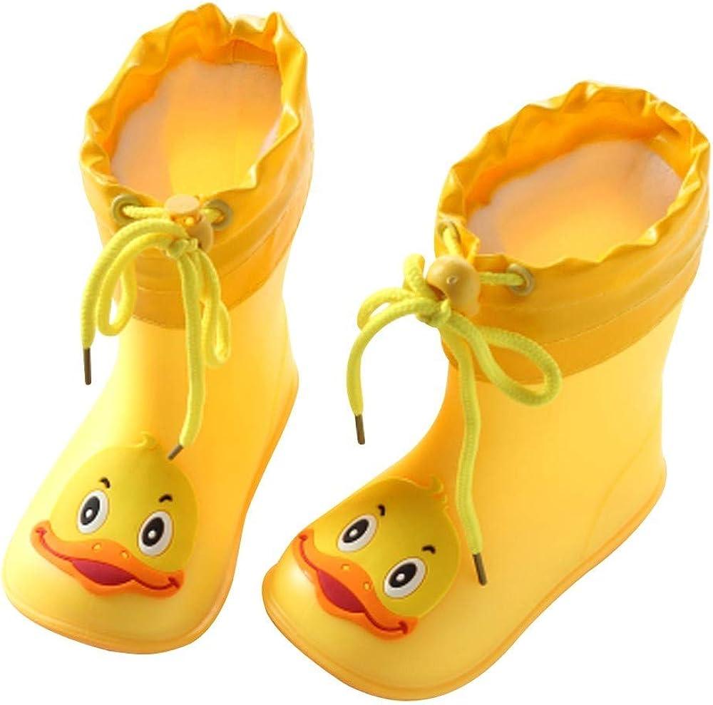 Alaso Chaussures Bébé Botas de lluvia para niños y niñas ...