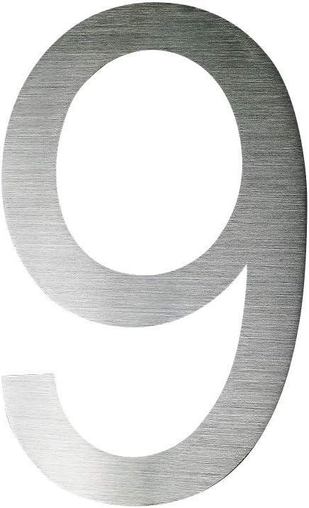 0 Hausnummer Edelstahl V2A Arial 2D XXL Gr/ö/ße 30cm Hoch rostfrei witterungsbest/ändig 0 1 2 3 4 5 6 7 8 9 a b erh/ältlich